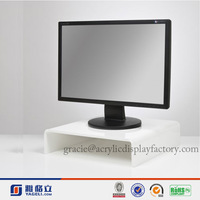 NEW Design!!!Factory Manufacturing Custom Modern Stylish Look Acrylic Adjustable Computer Monitor Stand In High Quality