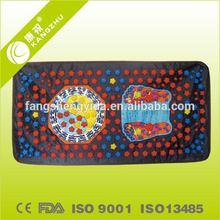 Foot massage apparatus, foot massage carpet