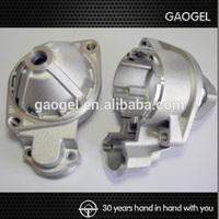 OEM alloy custom steel aluminium zinc shell steel die casting machinery parts aluminium die casting shell