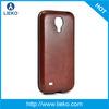 Leather +Tpu Case for samsung s4 mini/i9190
