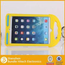 Colorful Silicon Case For iPad Mini ,2 in 1 pc+silicone case for ipad mini