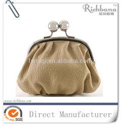 sheepskin coin purse