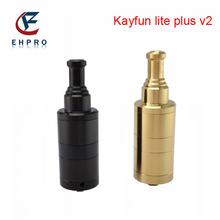 Hot selling!!! Ehpro rebuildable kayfun atomizer, Kayfun lite plus rba atomizer best wickless atomizer ecig from Ehpro