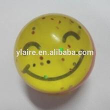 custom 2D or 3D logo 60mm rubber bouncing balls