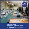 Indoor fitness PVC Vinyl Sports Flooring for weight room