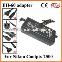 For Nikon digital camera ac adapter EH-60 made in china