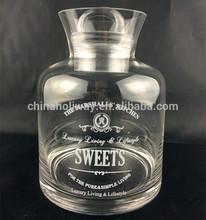 glass clip lid jars