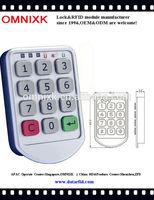 Hot sale customers satisfaction No.1 for steel locker electronic digital cabin lock pw206z