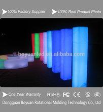 16 color s high led flashing wedding columns wholesale