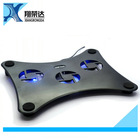 Cooling Pad with USB 2 3 4 5 Fans Laptop Cooling Pad Laptop Table Cooler Cooling Fan Blue Led Laptop Table Stand New Products