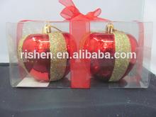 best selling Christmas foam green apple decoration