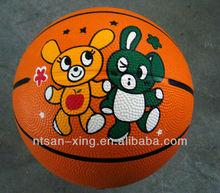 Cheap Standard Rubber Basketball