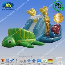 inflatable super slide/residential inflatable water slides/pool slides for sale