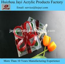 Hot! Alibaba wholesale acrylic candy box, clear heart shape acrylic candy box