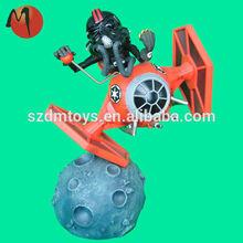 3d plastic custom design star wars action figure