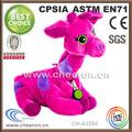 hermoso color y el estilo de color rosa jirafa de peluche de juguete