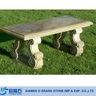 French Country Park Cheap Stone Garden Bench