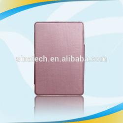 fashion protective pu leather for ipad mini smart cover