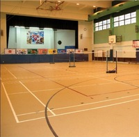 rubber flooring for outdoor sports court/ basketball courts rubber flooring