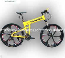"26"" Hummer bicycle 21speed mountain bicycle bike for shimano derailleur folding mountain bicycle OEM Manufacturer"