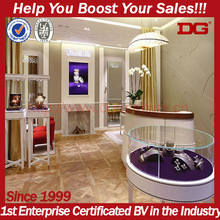 Fantasitic retail display systems showroom jewellry cases