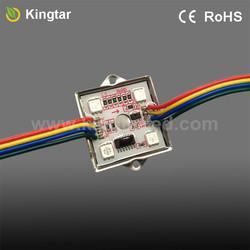 Intelligent 4 LEDs WS2801 rgb led dot matrix module