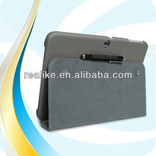 Colors Mixed Magnetic case cover pouch for samsung galaxy tab 3 10.1
