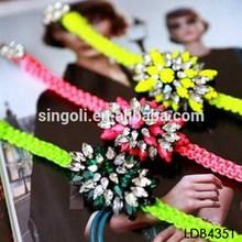 2014 African Neon Color Handmade Shourouk Bracelet