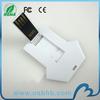 ShenZhen manufacturer plastic 64GB usb flash drive credit card