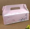 take away paper cake box/dessert box/ candy box/food box/gift box with handle and window
