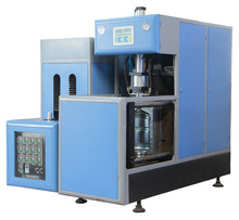 Hand Feed Preform Blow Molding for hot filling in 1 cavity