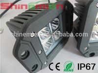 16w led light 4.5'' 16w led work light flush mount UTV 4X4 off road fog driving jeep