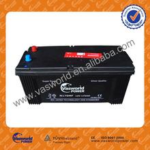 12v180ah barato baterías para el coche para camiones de partida