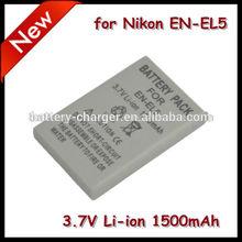 3.7V 1100mAh EN-EL5 For Nikon Camera Coolpix 5200 Coolpix 3700 Famous Brand Digital Camera Battery