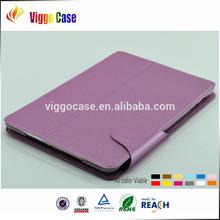 Leather flip cover for ipad mini, Pu leather Ultra slim cover case for apple ipad air mini 2