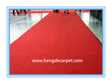 Exhibition/Events+display/show needle punch carpet+latex backing all 48 colors.