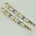 wholesale fake pearl hair barrette supply price