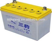 12v 45ah lead acid dry charged car battery