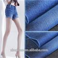 Denim vestuário tecido/penteado twill do spandex do algodão denim/tecido jeans para venda quente