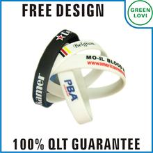 Free design Japan quality standard nba silicone bracelet