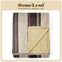 100% polyester print fleece throw blankets wholesale