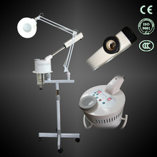 2014 new facial steamer vaporizer with magnifying lamp skin care machine
