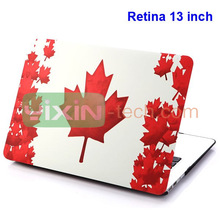 Fashion Maple Leaf Design for Macbook pro cases 13 inch