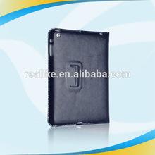 2014 Classic latest portable leather case for ipad mini
