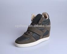 2014 fashion women wedge sneakers