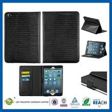 2014 new arrival hot sale leather flip case for ipad mini2