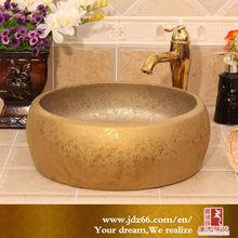 Many Color Glazed Bathroom Art Ceramic Decorative Foot Pedicure Basin