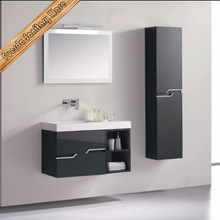 MDF bathroom cabinet/vanity China/white bathroom cabinet