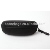 unique design cheap black eyeglasses bag/case with hook