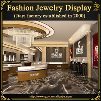 High-end modern jewelry shop in europe